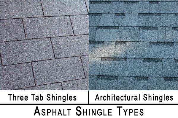 Asphalt Shingle Types